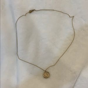 Estella Bartlett Gold Coin Necklace